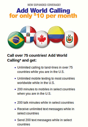 MetroPCS improves World Calling add-on