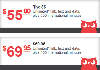 Page Plus adds unlimited data to the $55 and the $69.95 plans
