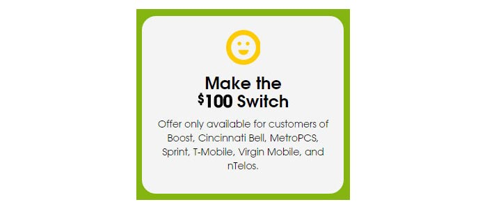 Cricket Wireless extends $100 switcher credit offer to January 29
