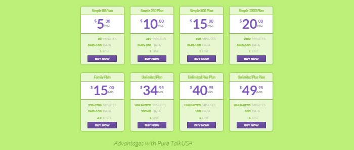 Pure TalkUSA new plan for $49.95 a month now available, improved data and minutes offerings as well