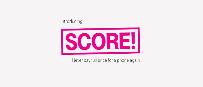 T-Mobile SCORE! phone upgrade program offers free and discounted smartphones to prepaid and postpaid customers