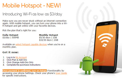 Boost Mobile and Virgin Mobile introduce new hotspot add-ons