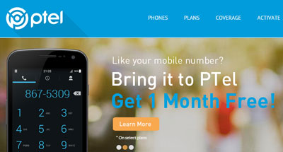 PTel offering free month of service for switching from another carrier