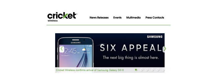 Cricket Wireless confirmed Samsung Galaxy S6