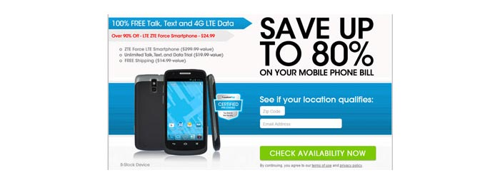 FreedomPop offering certified pre-owned ZTE Force LTE for $24.99 with free shipping