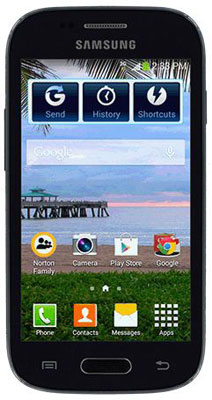 TracFone Samsung Galaxy Stardust with 1200 minutes for a year just over $100 at QVC
