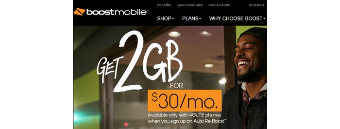 Boost Mobile launches new $30 2GB data plan with auto pay