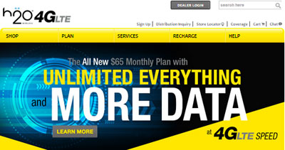 H20 Wireless adds new $65 plan, the $50 plan now includes unlimited mobile to mobile calls to Mexico
