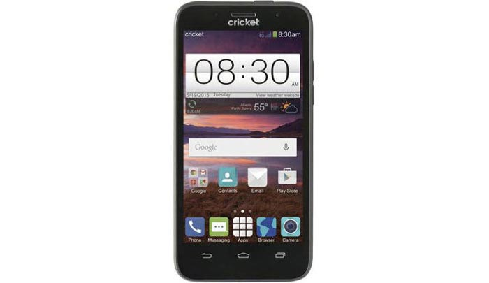 Cricket Wireless ZTE Fanfare available at Walmart for $69.88