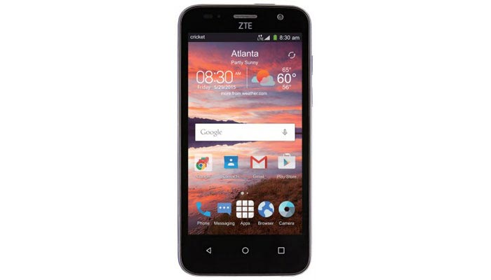 Cricket ZTE Overture 2 launches for $50
