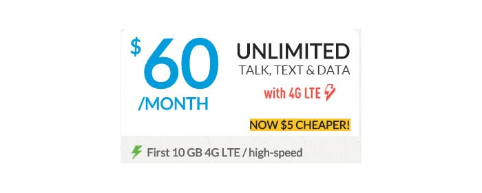 PTel and Giv Mobile now include 10GB of high-speed data with $60 plan