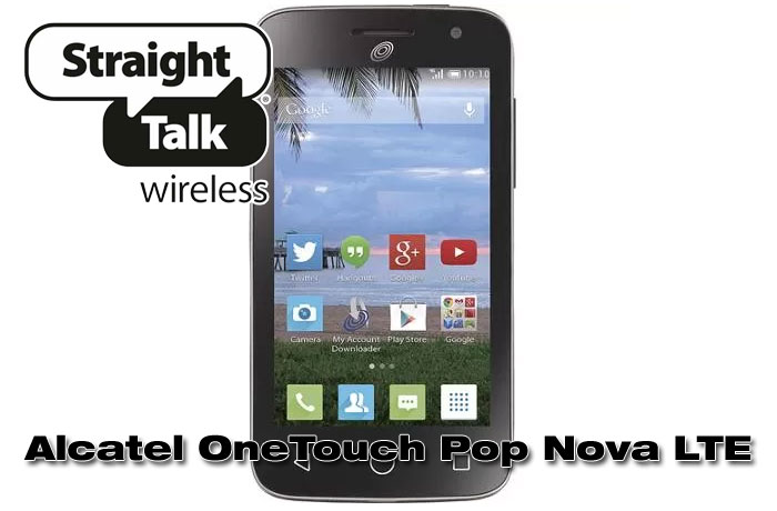 Straight Talk Alcatel OneTouch Pop Nova LTE