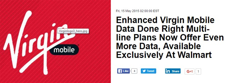Virgin Mobile improves Data Done Right plans