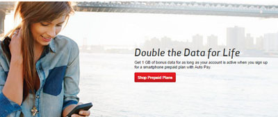 Verizon Prepaid offers 1 GB of bonus data with Auto Pay for a limited time instead of 500 MB
