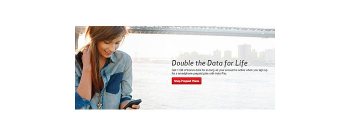 Verizon Prepaid offers 1 GB of bonus data with Auto Pay for a limited time instead of previous 500 MB