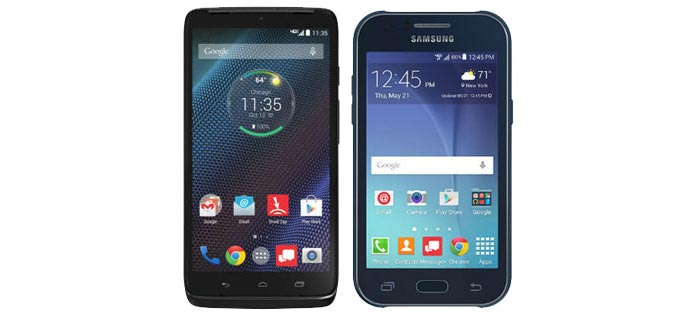 Verizon adds DROID Turbo and Samsung Galaxy J1 to its prepaid phone lineup; DROID Turbo to get Android 5.1 update in mid-June