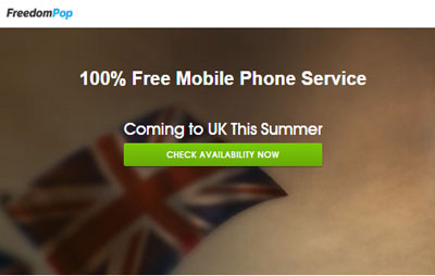FreedomPop launching free mobile service in the UK this summer