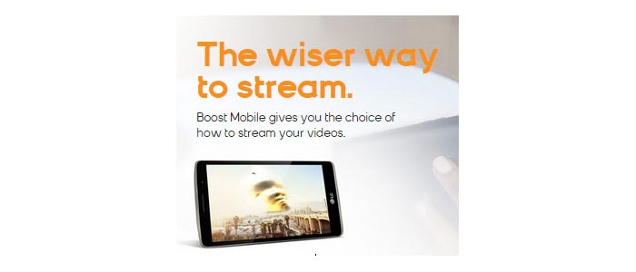 Boost Mobile EnhancedStream video option now available