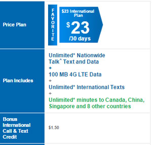 Among other changes, Lycamobile adds new International $23