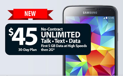 Straight Talk now offers 5GB of high speed data on the $45 and $60 unlimited plans