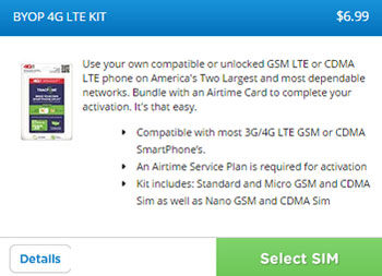 TracFone GSM BYOD SIMs AT&T compatible now available