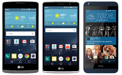 Cricket adds LG Risio, LG G Stylo and HTC Desire 626s to its prepaid lineup