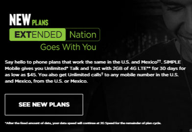 Simple Mobile includes roaming to Mexico, new plans and other changes to its offering