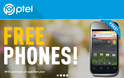 PTel offers free phones with plan purchase