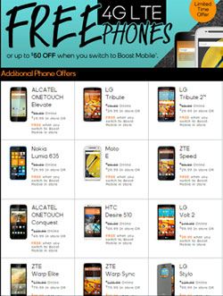 New Boost Mobile growing data plans and unlimited data for $60 a month now available