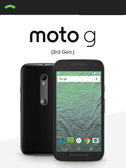 Republic Wireless Moto G (3rd Gen.) launching October 27
