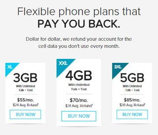 Republic Wireless discontinues $5 Wi-Fi unlimited talk, texts and data plan, adds new XXL and 3XL $704GB and $855GB options