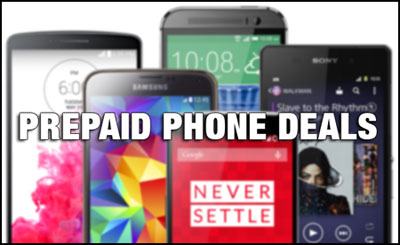 Prepaid Phone deals starting October 11, 2015