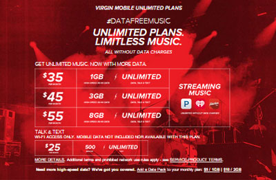 Virgin Mobile Data Free Music launching on October 9, HTC Desire 626s, Moto G (3rd Gen.) and Huawei Union now available