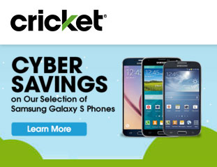 Cricket Cyber 2015 deals offer Samsung Galaxy S phones at half price