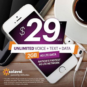 Solavei Offers $10 Off $39 And $49 Plans First Three Months For New Customers