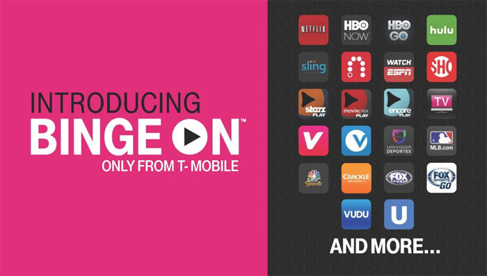 T-Mobile Binge On Prepaid, Free Video Streaming For Mobiles, Launches On Simple Choice Plans