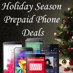 Holiday Season Prepaid Phone Deals