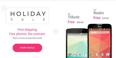 TextNow Holiday Sale Offers Free And Discounted Phones Until January 1