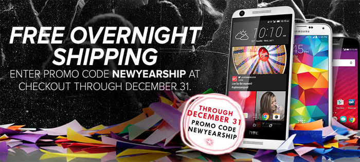 Virgin Mobile Offers Free Overnight FedEx Shipping Until Dec. 31, 20% Off Select Android phones