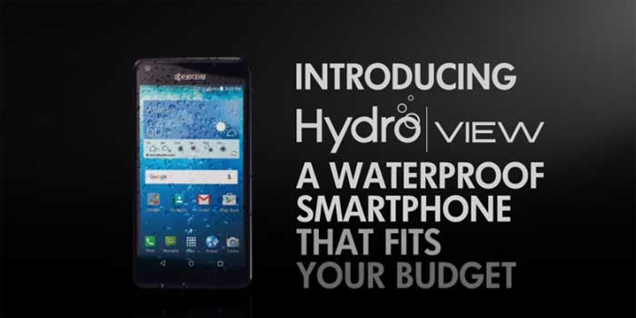 Cricket Kyocera Hydro VIEW To Launch January 8 For $79.99