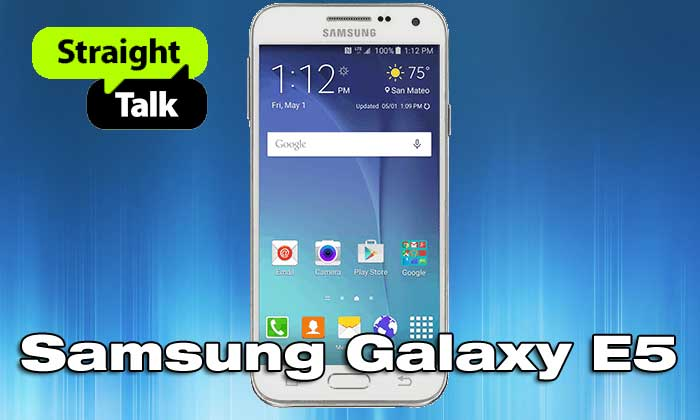 Straight Talk Samsung Galaxy E5 Available At Walmart For $199
