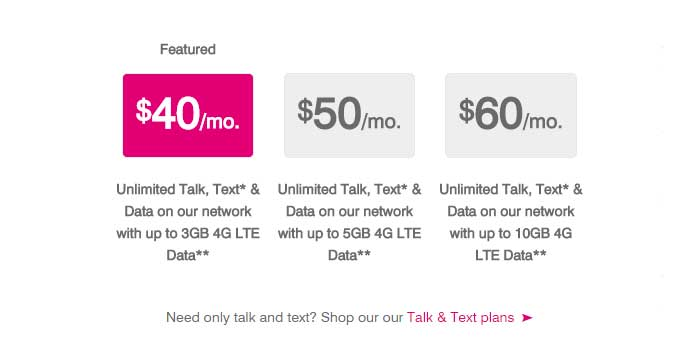 New T Mobile Simply Prepaid Plans Get More High Speed Data