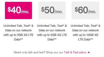 New T Mobile Simply Prepaid Plans Get More High Speed Data Data