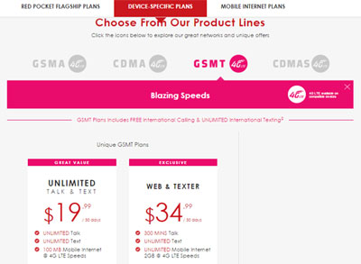 Red Pocket Brings Back T-Mobile Based Service To Its Prepaid Offerings, Verizon Based Plans Offer More Data