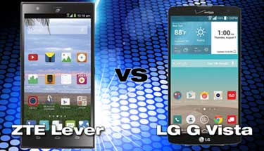 Straight Talk ZTE Lever vs Verizon Prepaid LG G Vista - Phablet Comparison