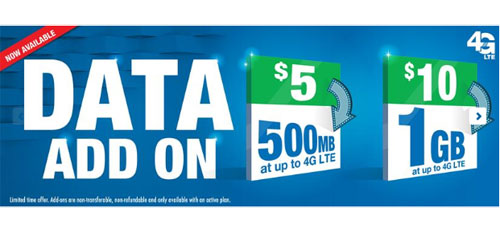 Lycamobile Data Add On Now Available, Limited Time Offer