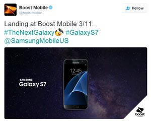 MetroPCS Samsung Galaxy S7 available for pre-orders, Boost Mobile S7 landing on March 11