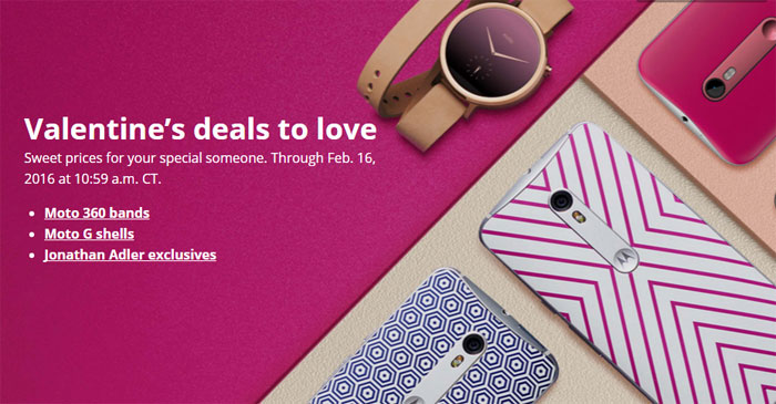 Motorola Offers Valentine's Day Deals - Moto G Free Shells And Moto X Jonathan Adler Edition $75 Off