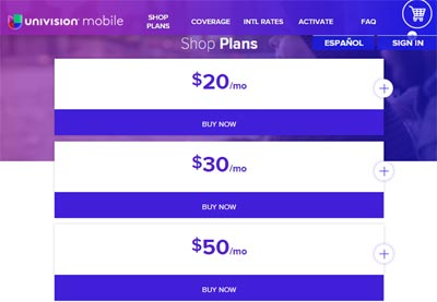Univision Mobile Launches New Plans Powered By Ultra Mobile