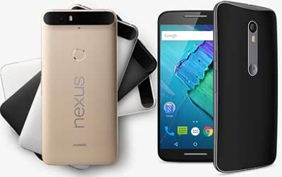 Discounts On Nexus 6P And 5X, Moto X Pure Edition And SanDisk 200GB MicroSD Card Available